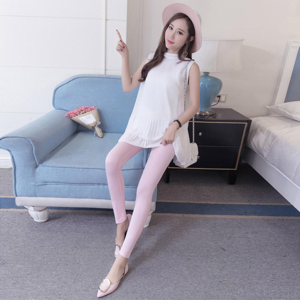Low-Waist-Cotton-Leggings-Elastic-Pregnant-Maternity-Pants-Women-Casual-Trousers thumbnail 20