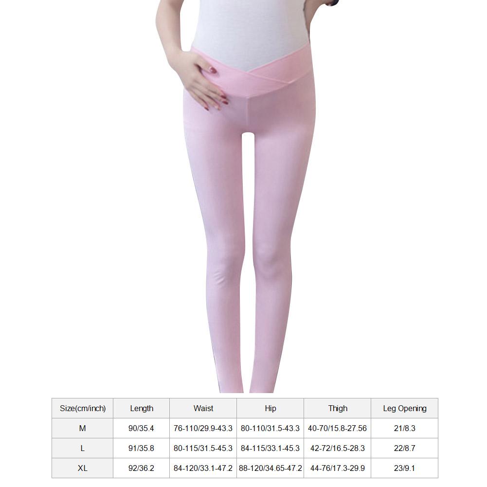 Low-Waist-Cotton-Leggings-Elastic-Pregnant-Maternity-Pants-Women-Casual-Trousers thumbnail 21