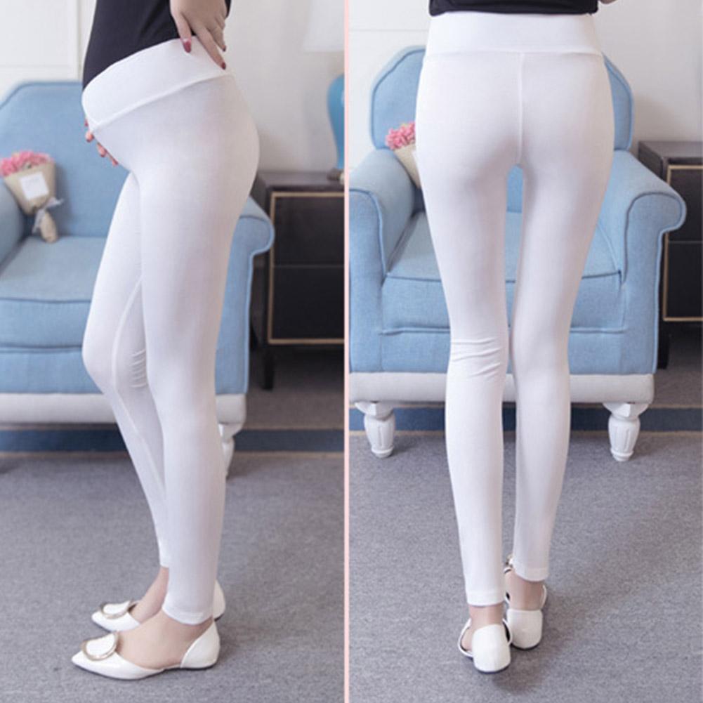 Low-Waist-Cotton-Leggings-Elastic-Pregnant-Maternity-Pants-Women-Casual-Trousers thumbnail 23