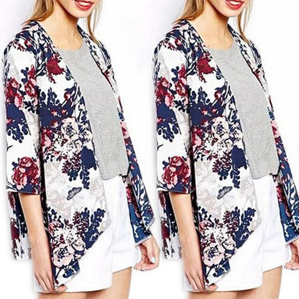 Women-039-s-Floral-Kimono-Boho-Cardigan-Shawl-Cover-Up-Blouse-Jacket-Beach-Tops-Coat