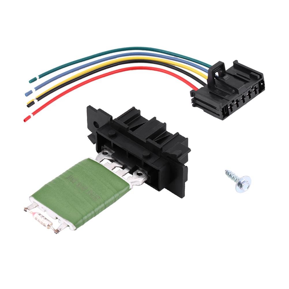 Heater Blower Motor Resistor Connector + Wiring Harness Loom For Fiat Punto  Evo
