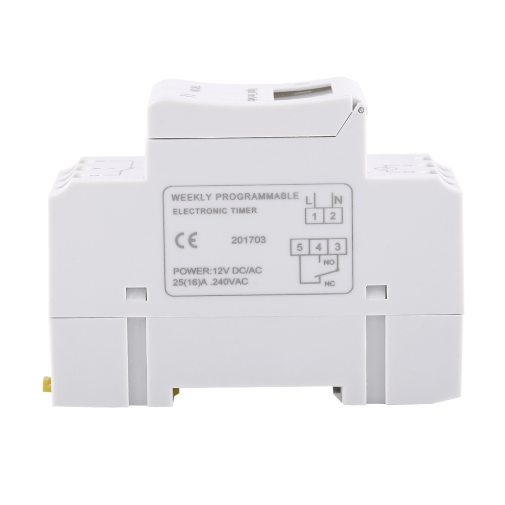 12-220V-LCD-Interrupteur-Horaire-Digital-Minuterie-Programmable-16ON-8OFF-16OFF miniature 35