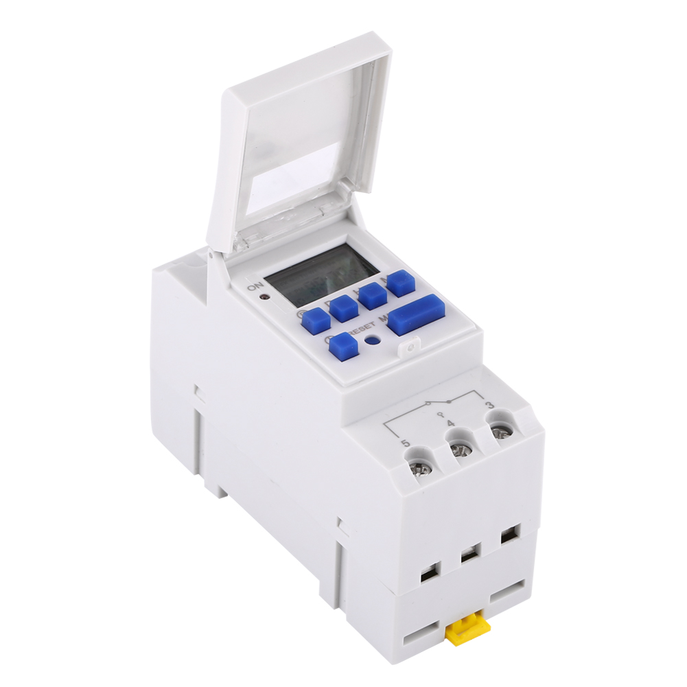 12-220V-LCD-Interrupteur-Horaire-Digital-Minuterie-Programmable-16ON-8OFF-16OFF miniature 28
