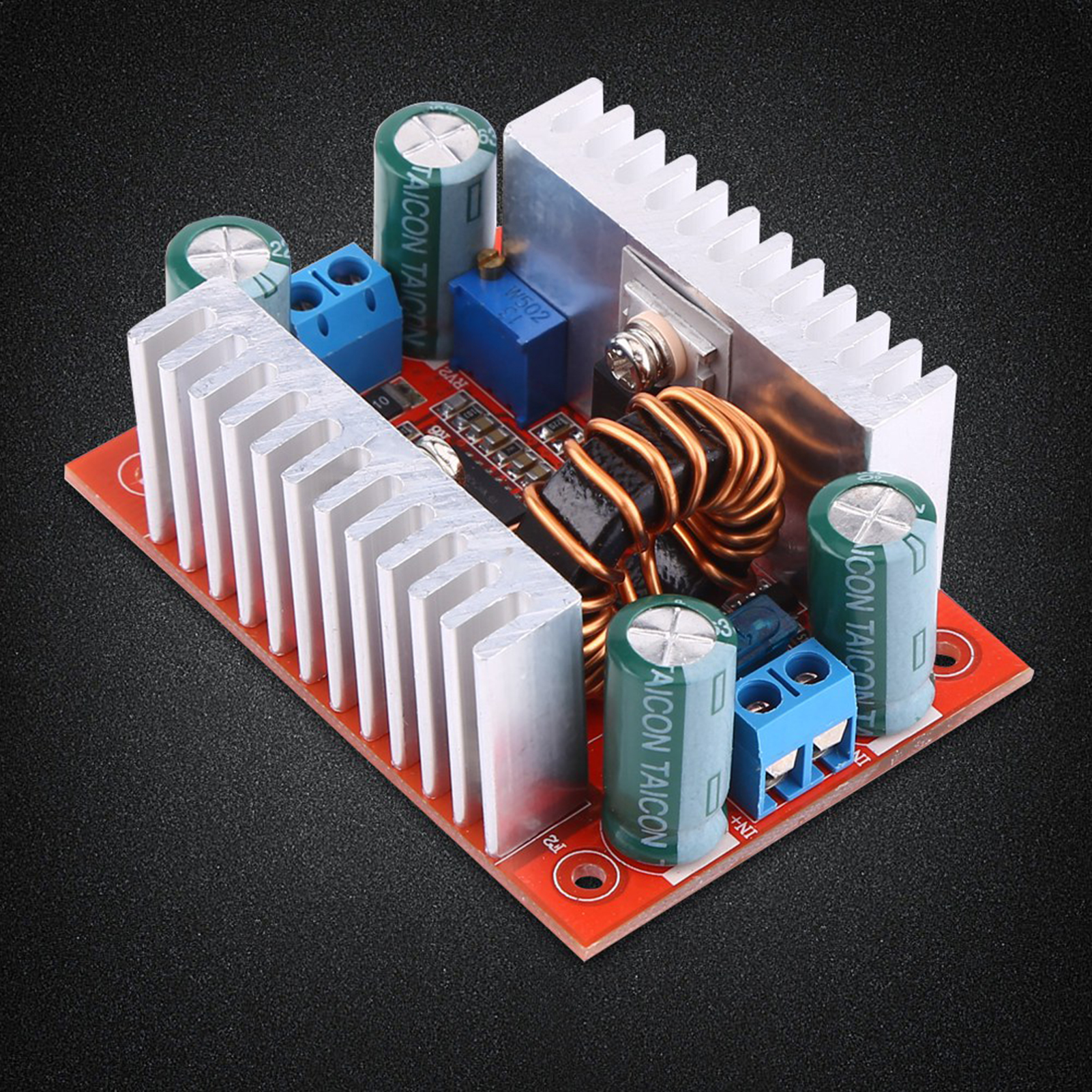 Dc Step Up Boost Converter Constant Current Power Supply 400w 15a Circuit Diagram Block Image