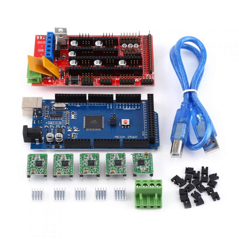 Mega 2560 R3 CH340G 5x A4988 2A Drivers New RAMPS 1.4 3D PRINTER CONTROLLER
