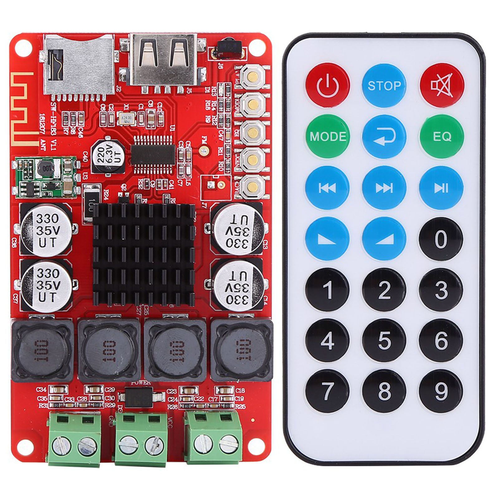 BLUETOOTH-AUDIO-RICEVITORE-MODULO-MP3-WMA-USB-TF-SCHEDA-DECODING-BOARD-BOARDCAST