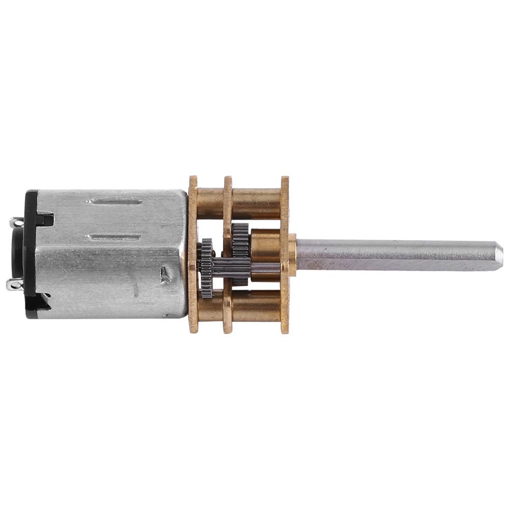 DC12V N20 Getriebemotor Getriebe Elektromotor 100-2000RPM 20mm für DIY Modellbau