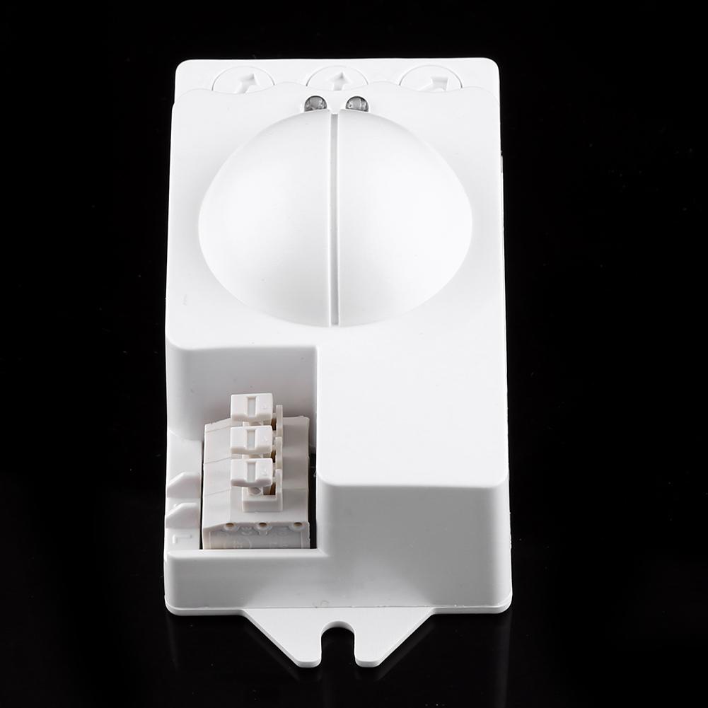 360 500w radar sensor de movimiento detector microondas - Detector movimiento luz ...