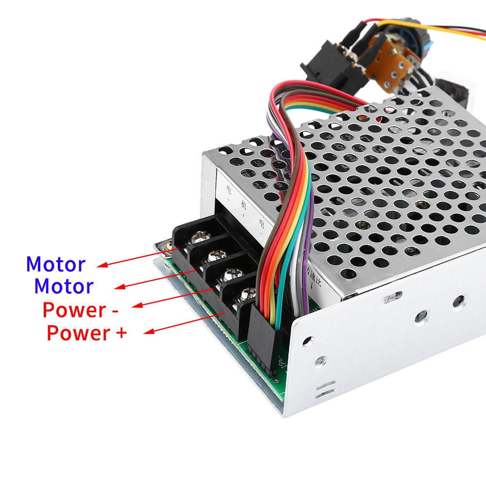 Led display 12v 24v 48v pwm dc motor speed for 24v dc motor driver