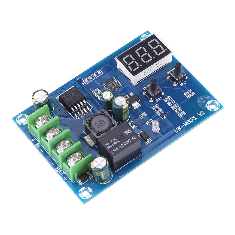 12V-24V-6-60V-Power-Supply-Switch-Module-Battery-Charger-Charging-Control-Board miniature 15