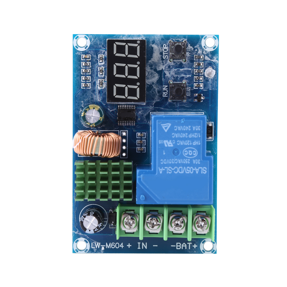 12V-24V-6-60V-Power-Supply-Switch-Module-Battery-Charger-Charging-Control-Board miniature 18