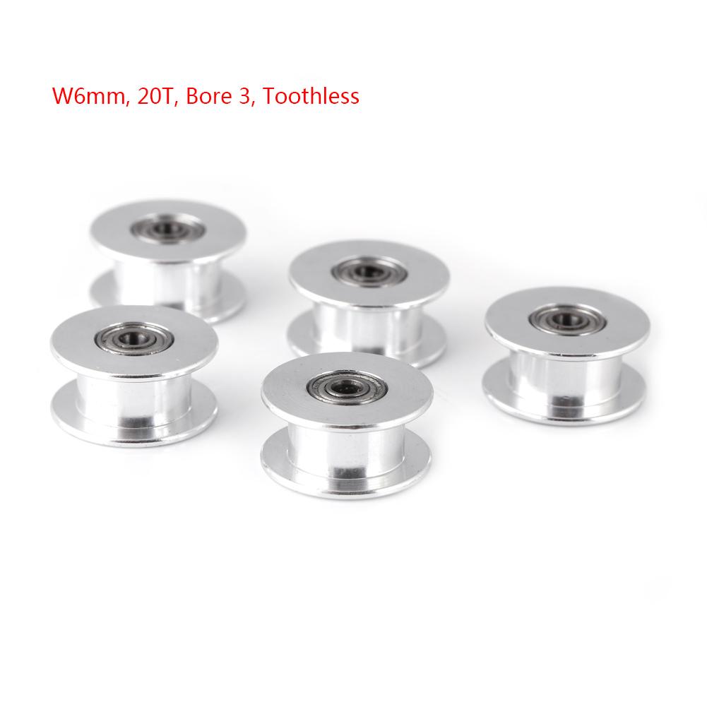 5Pz-2GT-6mm-10mm-Puleggia-a-Cinghia-16T-20T-3mm-5mm-Bore-per-3D-Stampante