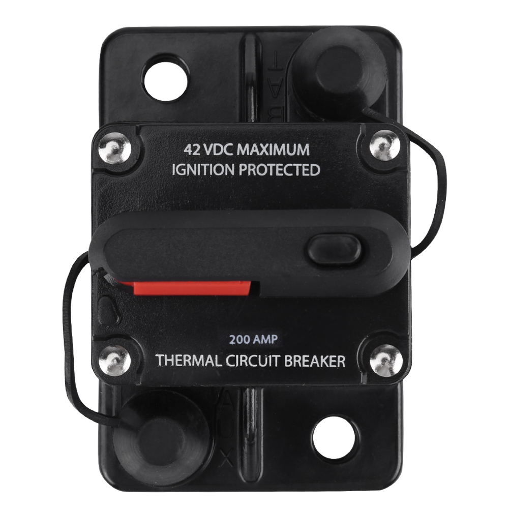 50-250A AMP Circuit Breaker Car Marine Stereo Audio Inline Replace ...