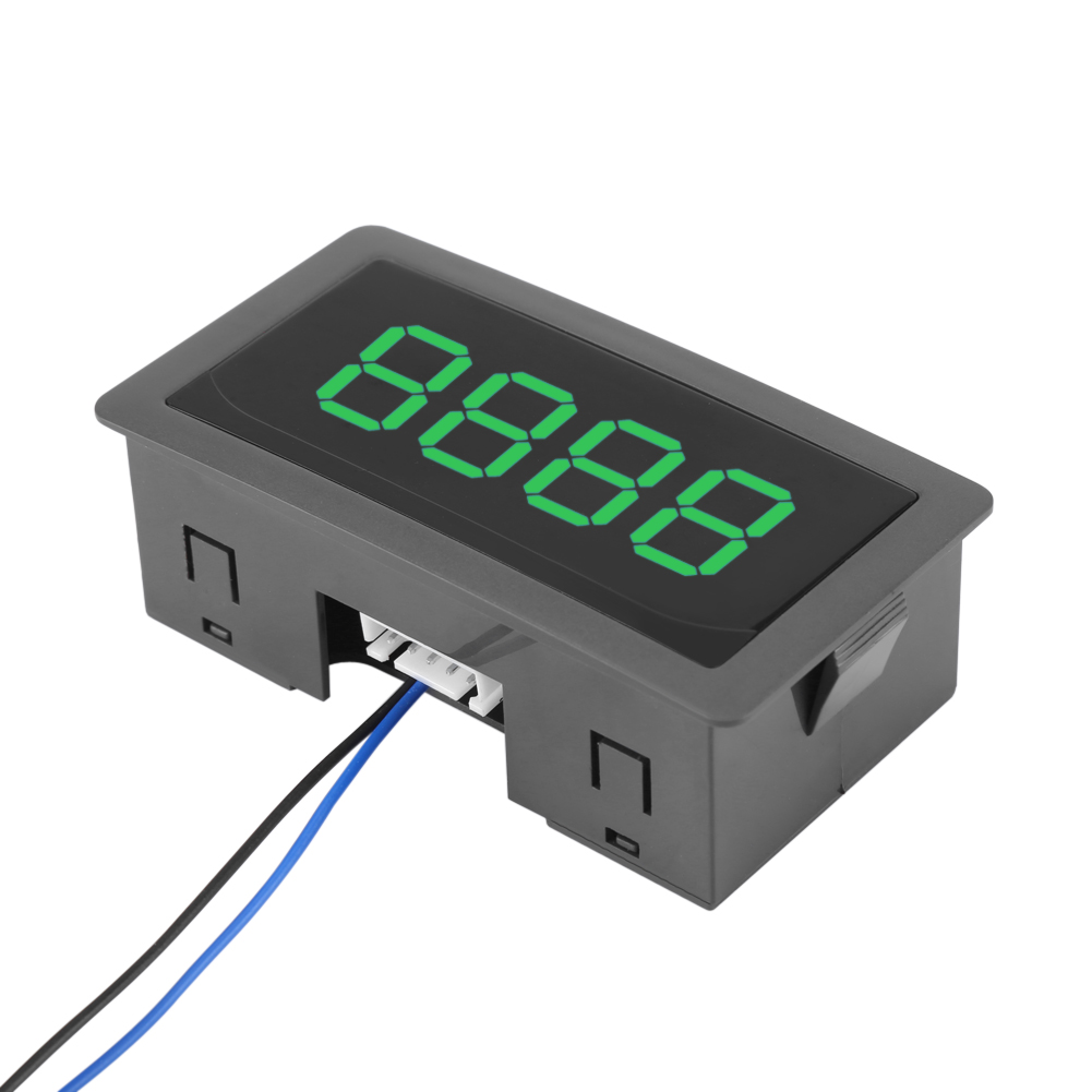 4 Digital Green LED DC 24//12V Counter Panel Meter Plus Up and Minus Down 0-9999