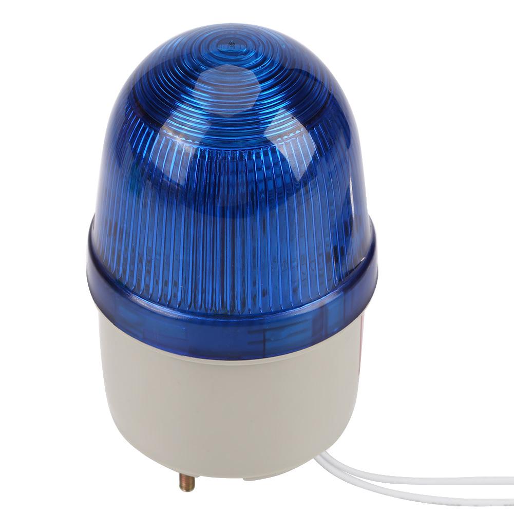 220v Ac Flashing Strobe Beacon Led Warning Light Emergency Alarm And