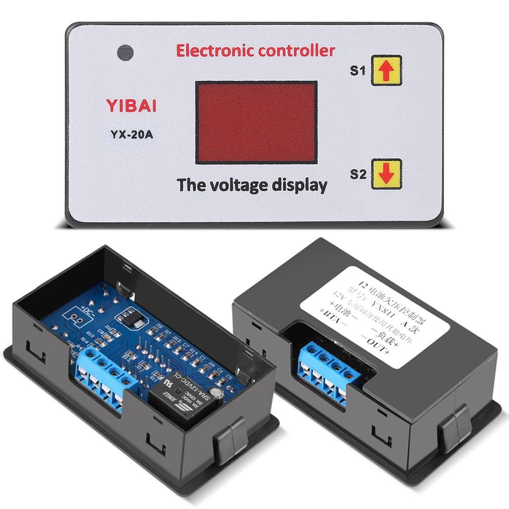 12V Lithium Batterie Niederspannung Abschalt Automatik Schalter ...