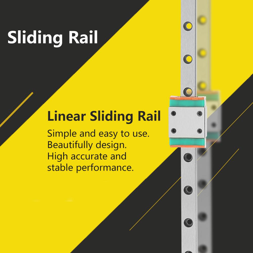 HGR20-600mm CNC Linearführung Linearschienen Linear Gleitschiene mit Lagerblock