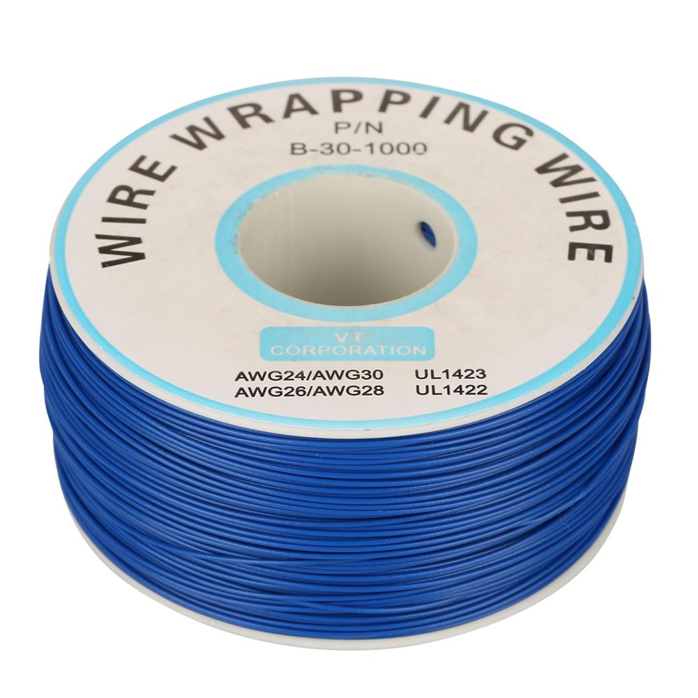 30AWG Wire-Wrapping Single Copper Wire Strand Cable 0.25mm Core Dia ...