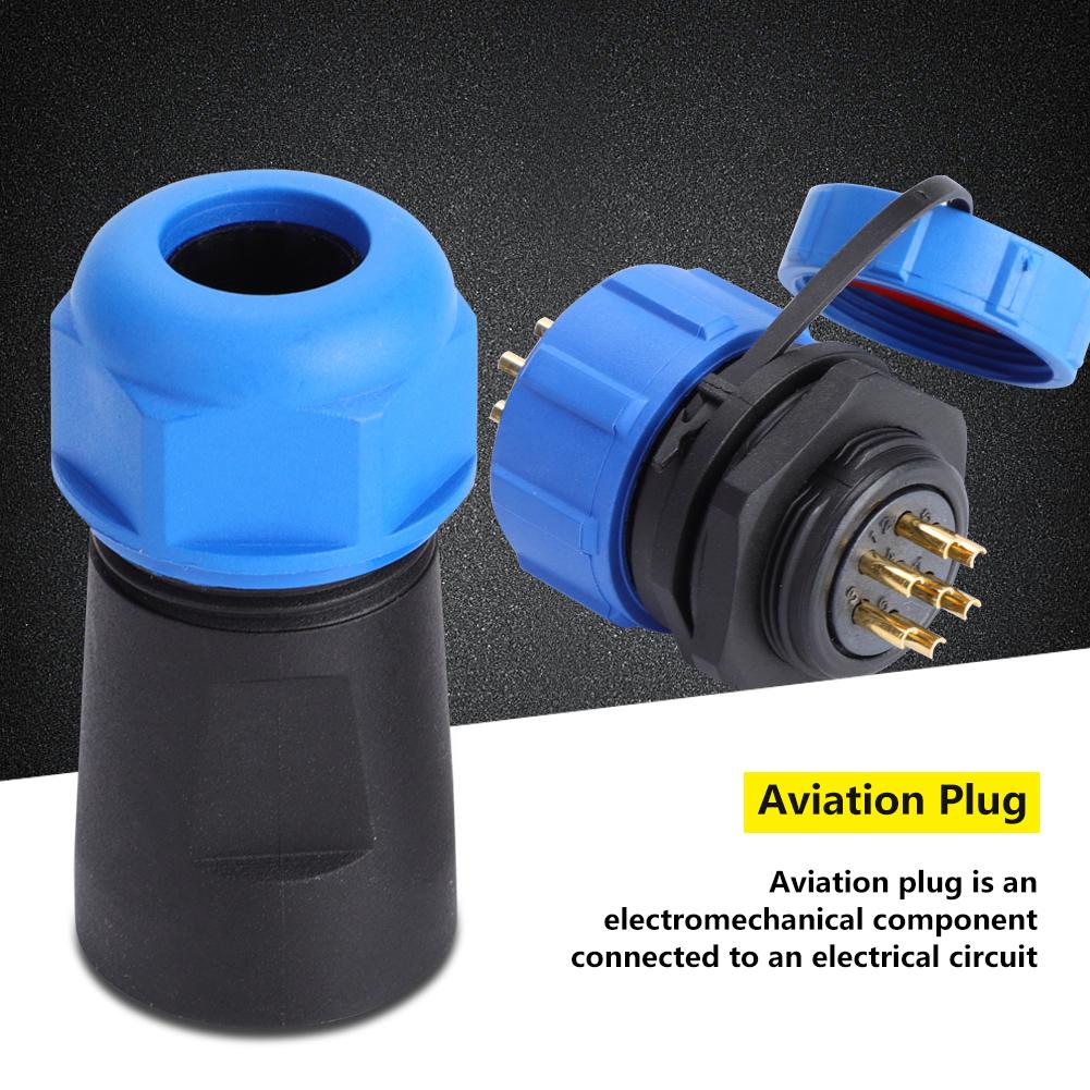 4Pin Conector de enchufe de aviaci/ón IP68 SP21 Conector 2Pin 3Pin 9Pin 500V 30A impermeable 5Pin 7Pin 9 pines 6Pin
