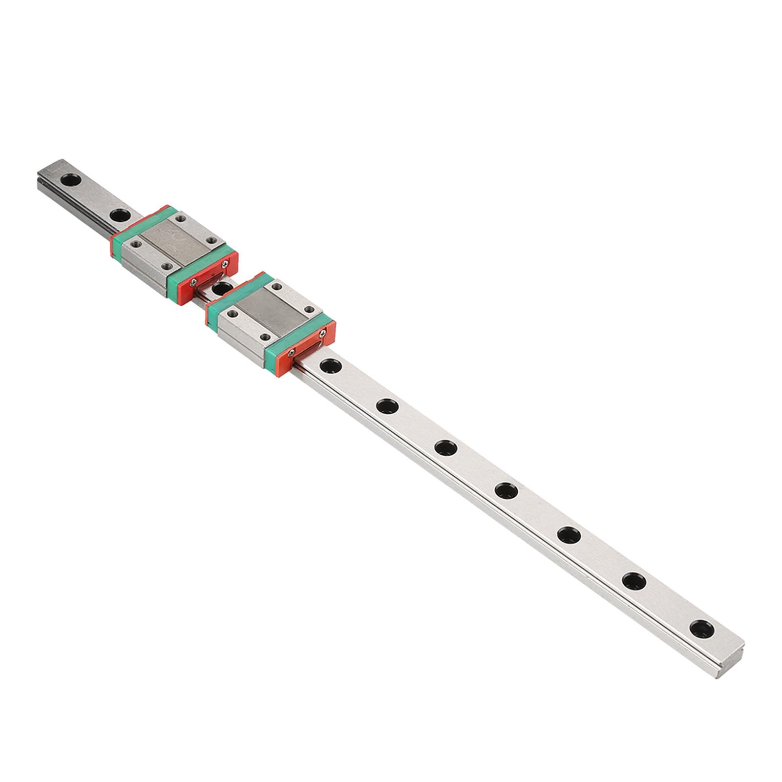 25//30//50cm Linearführungsschiene Linearschiene mit 2x MGN12B Schienenwagen sg1