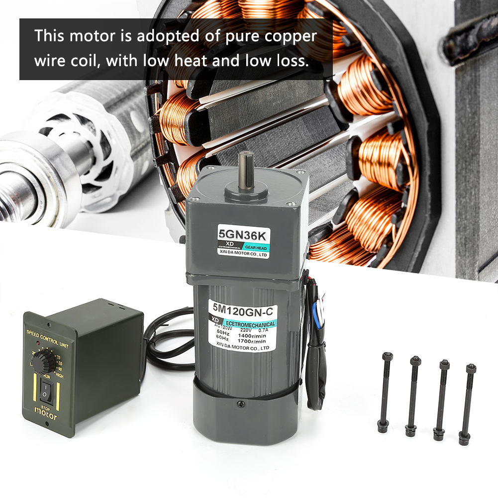 1pc-AC-220V-120W-Gear-Reduction-CW-CCW-Motor-Adjustable-Speed-Gearbox-Governor