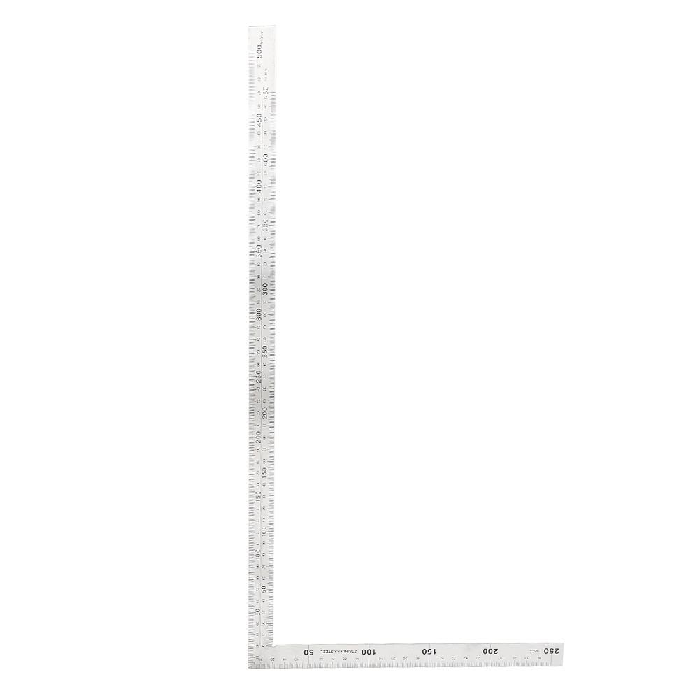 edelstahl 90 grad winkel herrscher messung square tool | ebay