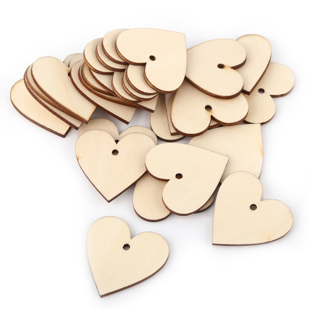 Wooden heart shapes craft scrapbooking ply wood hearts for Wooden hearts for crafts