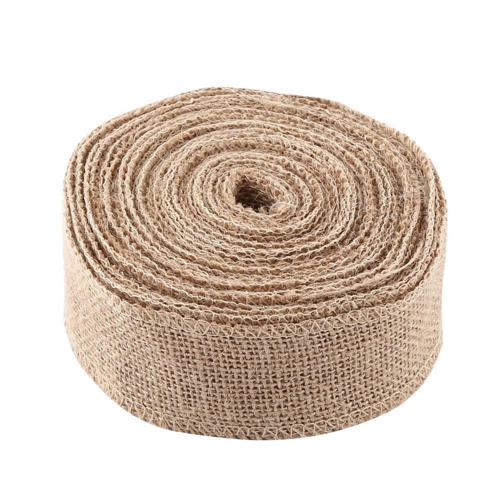 10M-Natural-Burlap-Jute-Hessian-Flax-Ribbon-Roll-Wedding-Decor-5-10-15-30cm-Wide