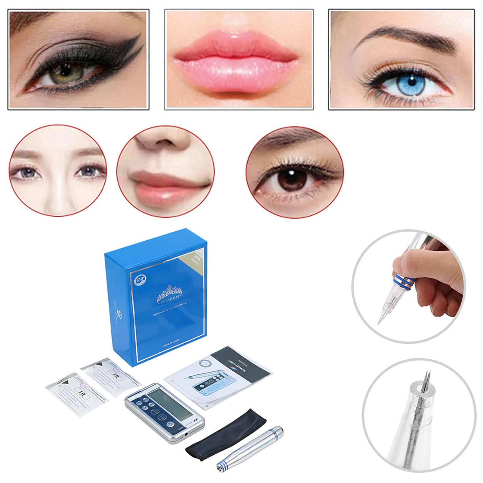Digital-Permanent-Eyeliner-Lip-Eyebrow-Maquillaje-Tatuaje-Pen-Pen-2-Agujas