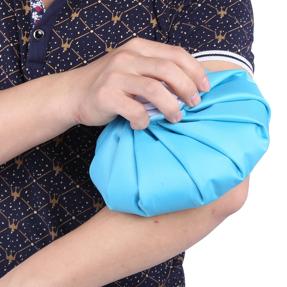 thumbnail 15 - Reusable Cold Compress Ice Bag Sports Injury Cold Therapy Pack Swelling Pain EB