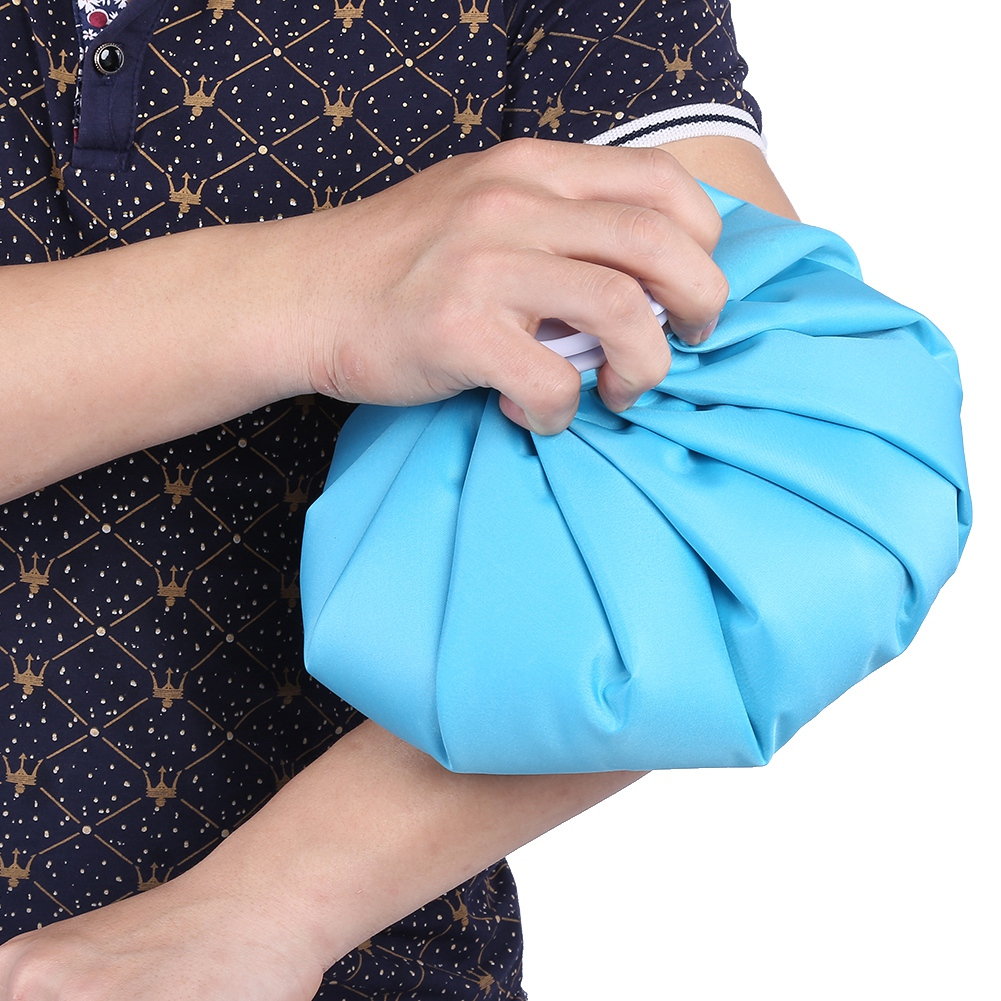thumbnail 18 - Reusable Cold Compress Ice Bag Sports Injury Cold Therapy Pack Swelling Pain EB