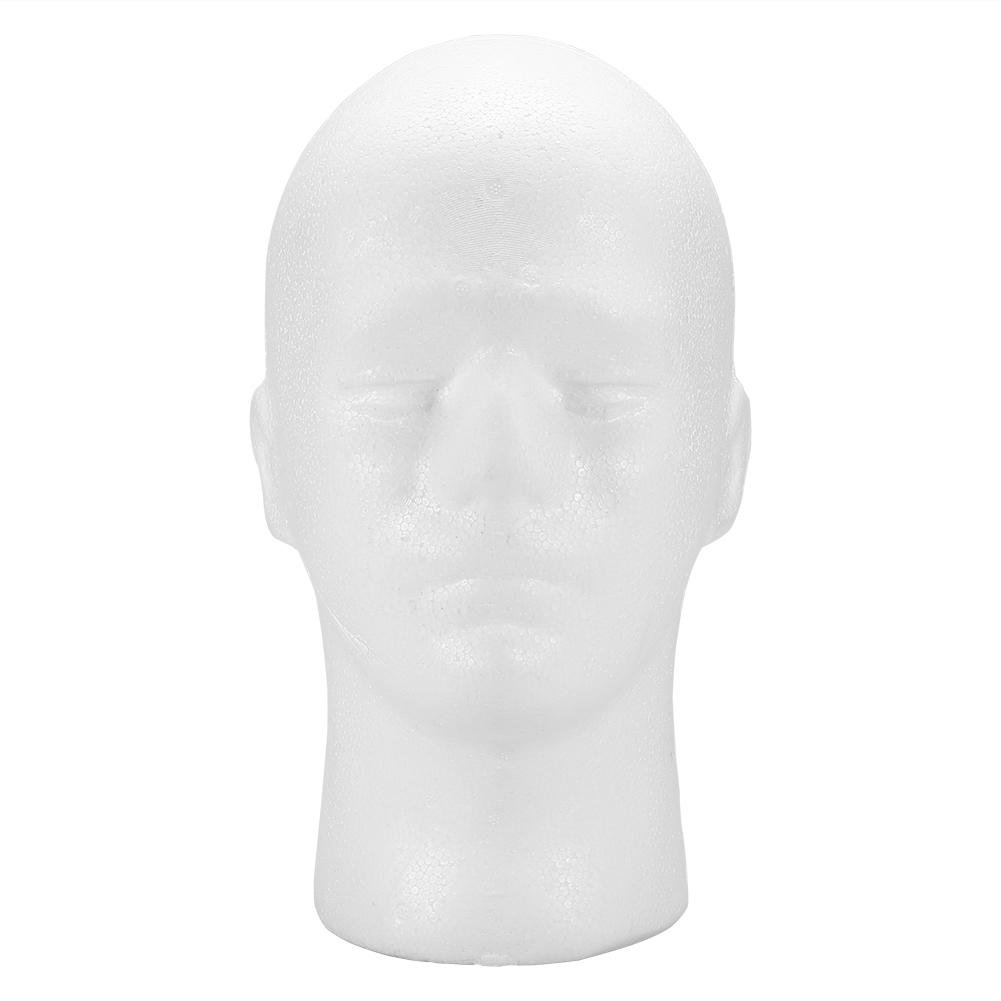 Male-Female-Styrofoam-Mannequin-Foam-Head-Model-Wig-Glasses-Hat-Display-Stand thumbnail 17