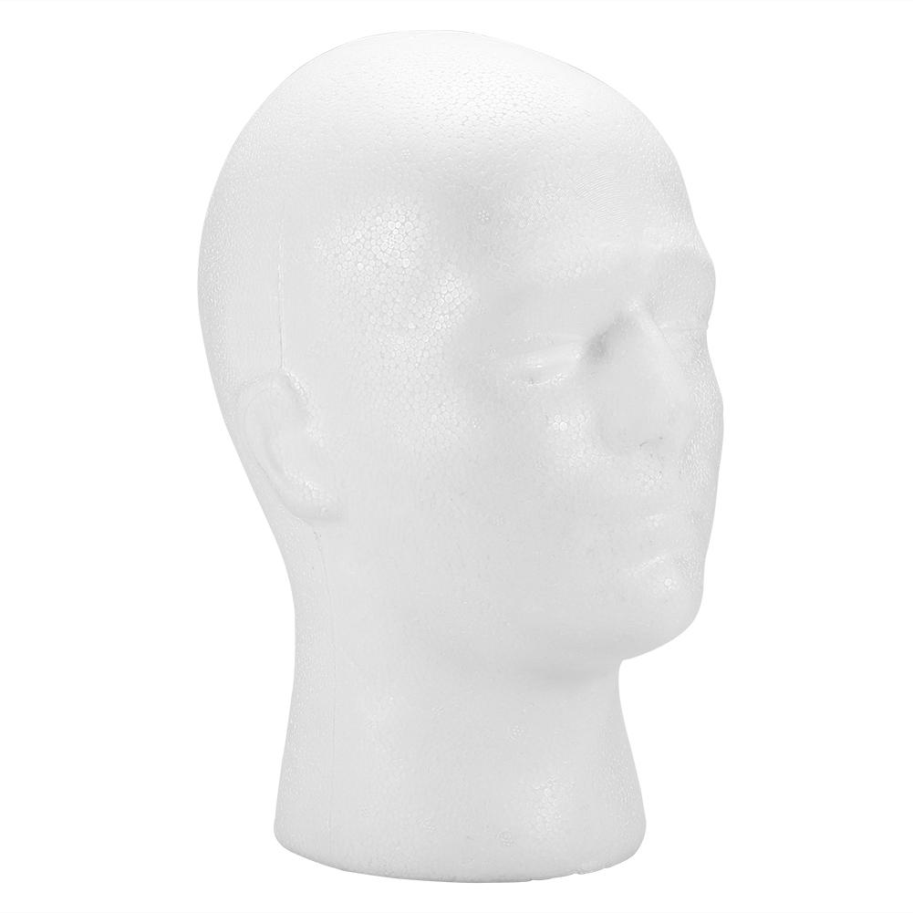Male-Female-Styrofoam-Mannequin-Foam-Head-Model-Wig-Glasses-Hat-Display-Stand thumbnail 18