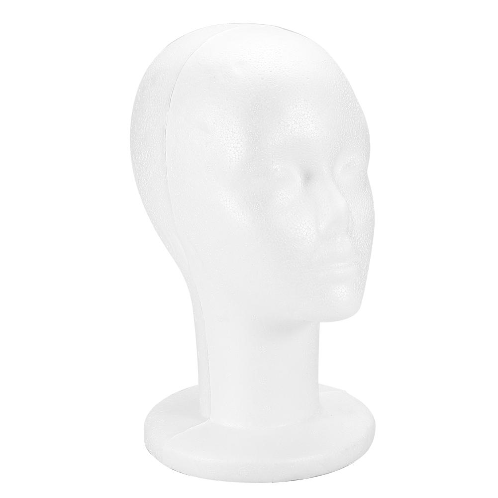 Male-Female-Styrofoam-Mannequin-Foam-Head-Model-Wig-Glasses-Hat-Display-Stand thumbnail 27
