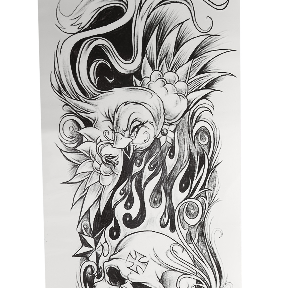 Tattoo Sleeve Stencils