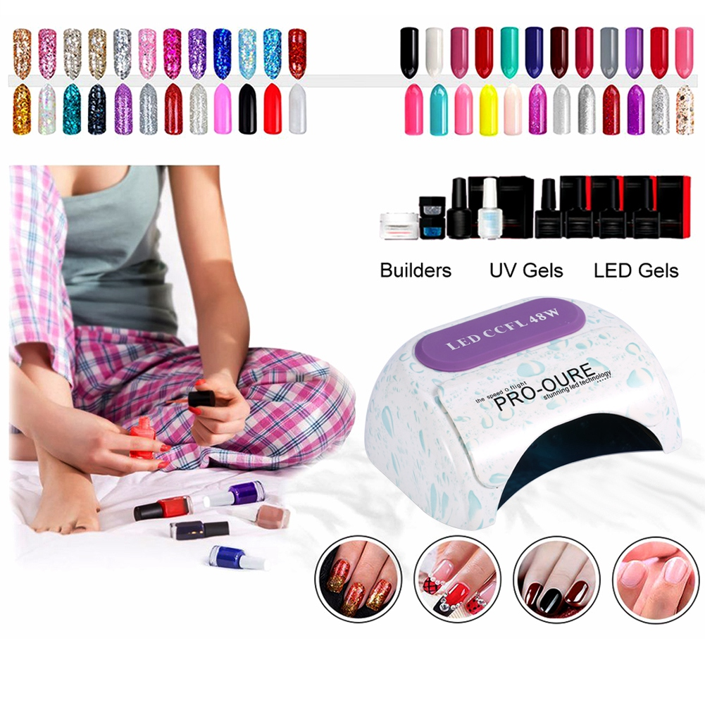 48w led lampe sche ongle uv schoir dryer nail art pour des gels 48w led lampe seche ongle uv sechoir dryer parisarafo Choice Image