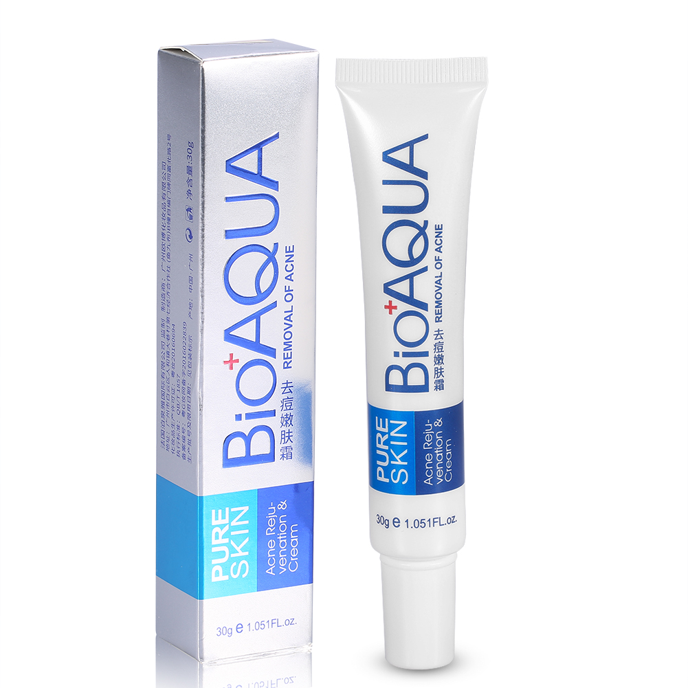 bioaqua face cream acne pimple spots removal treatment oil control skin care ls 9313520699120 ebay. Black Bedroom Furniture Sets. Home Design Ideas