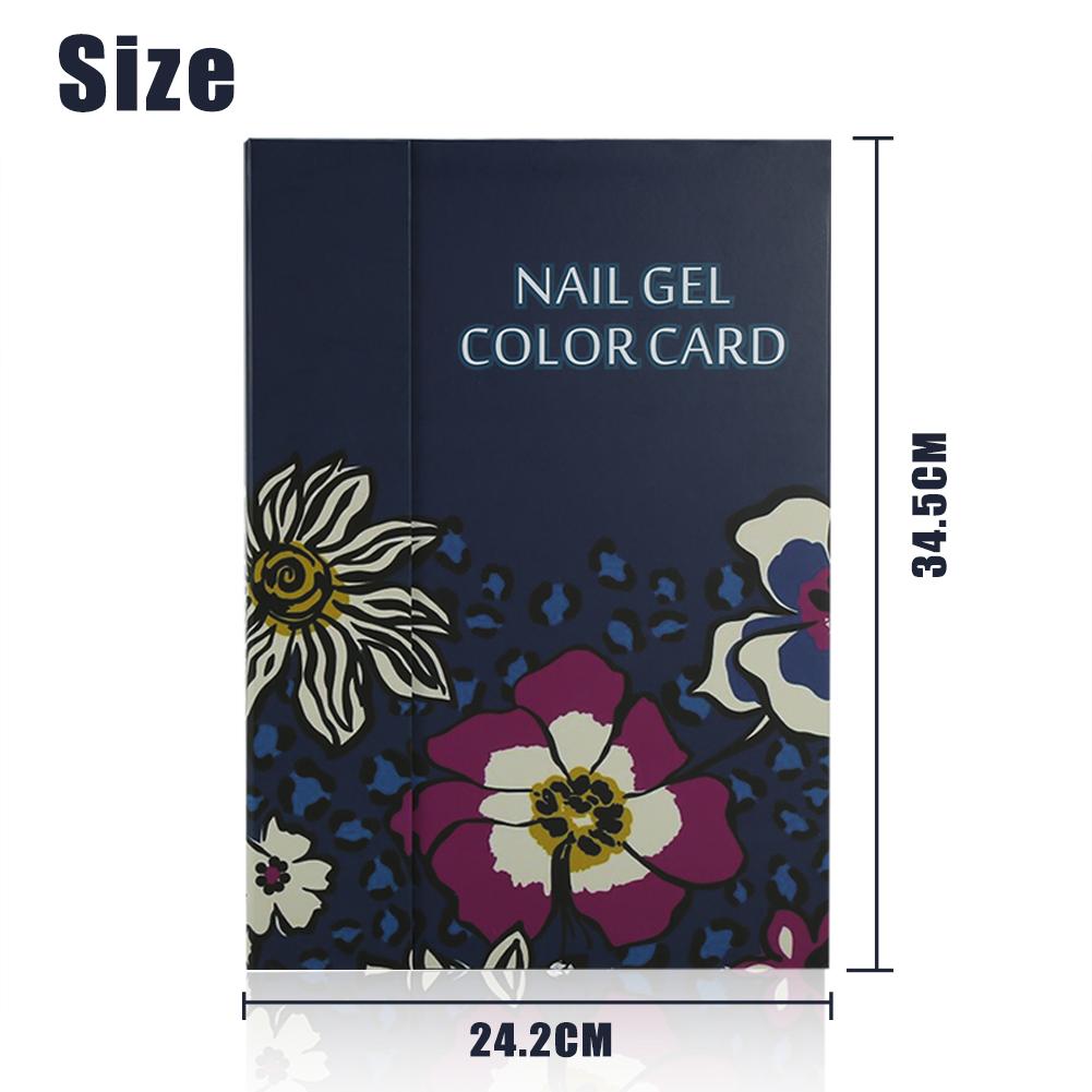 2 Tipos 180 Colores Libro De Muestras Gel Esmalte Arte De Uñas | eBay
