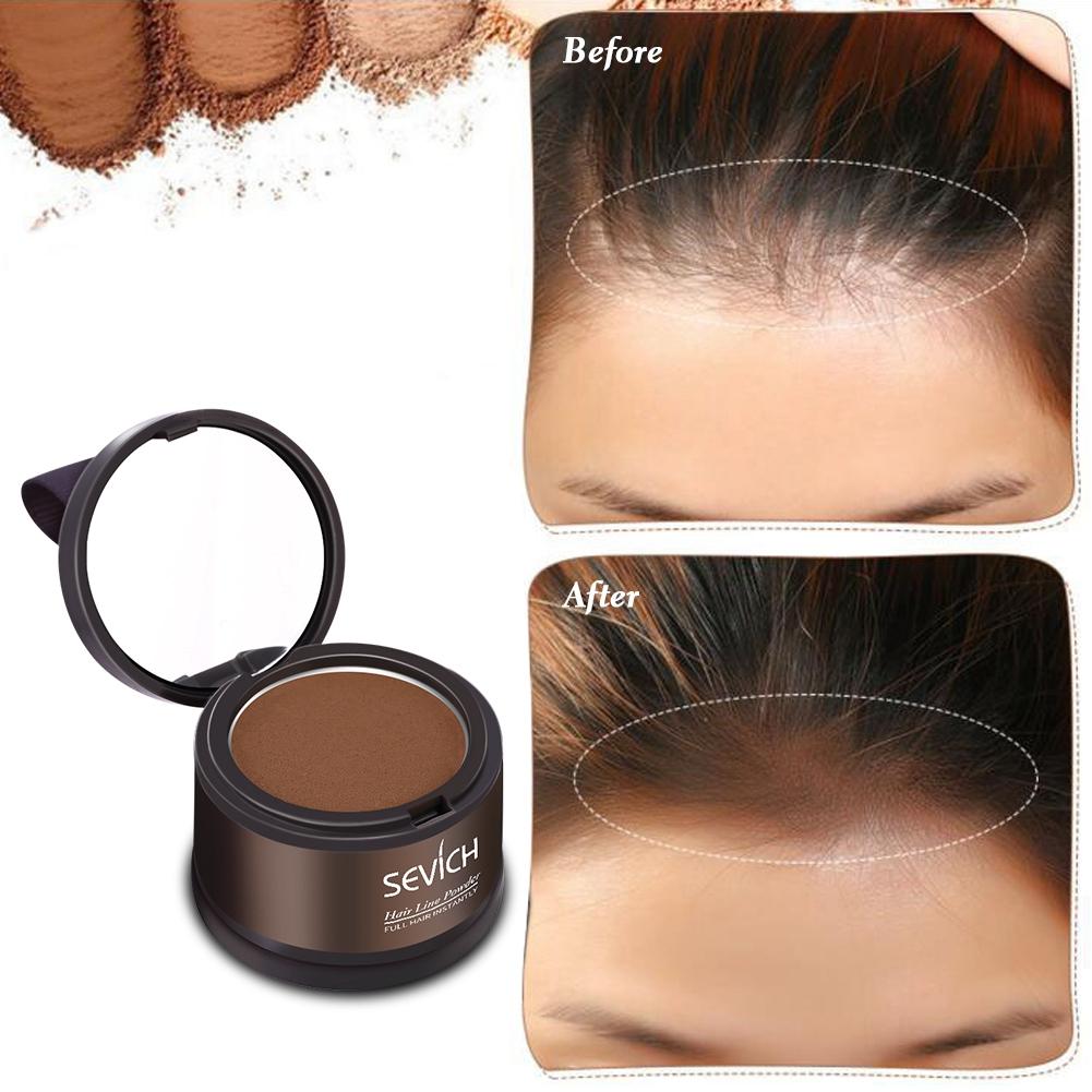 sevich hair line powder hairline shadow cover up powder fill in