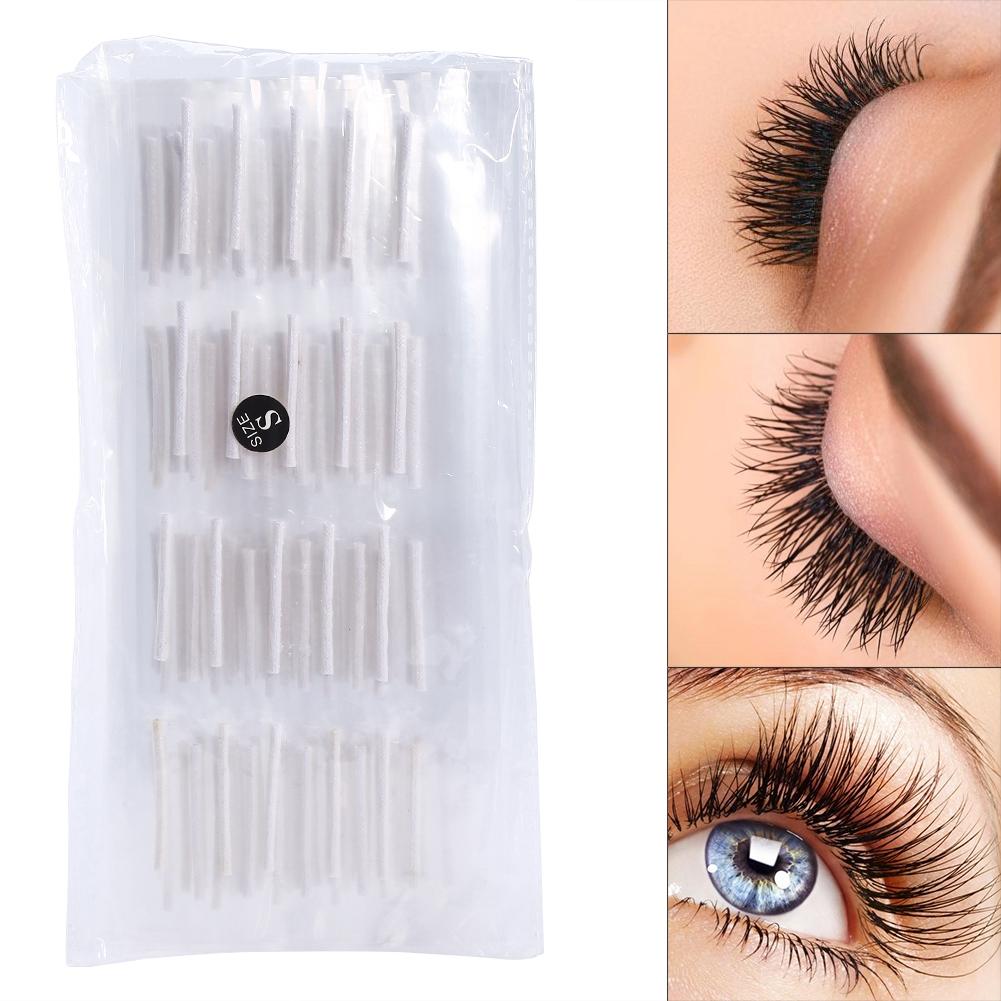 200pcs Self Adhesive Eyelash Perming Curlers Rods Perm Eye Lash