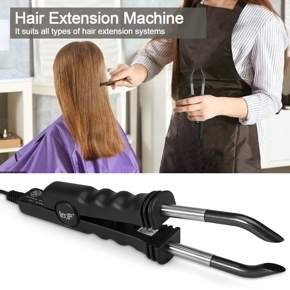 Professional Salon Fusion Machine Hair Extensions Iron Connector Bt