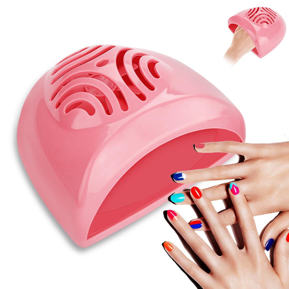 Portable Nail Dryer Fan Mini Nail Art Drying Tools Nail Polish Air ...