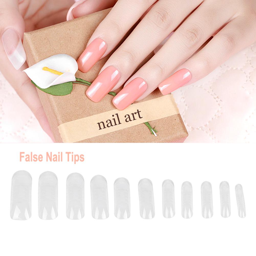 140x Dual System Form Extension False Nail Tips Nail Art Tips Uv Gel