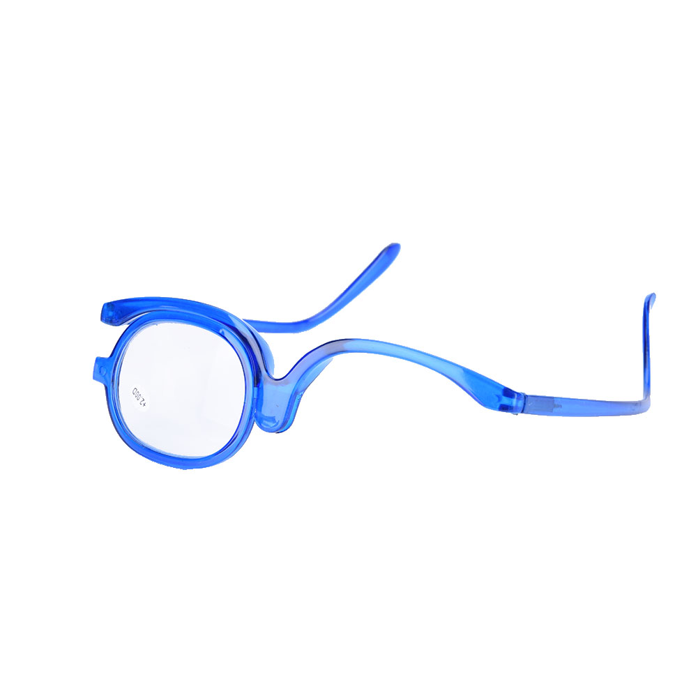 20c41ac6a0c Women Makeup Magnifying Reading Glasses Flip Make Up Eye Glasses + ...