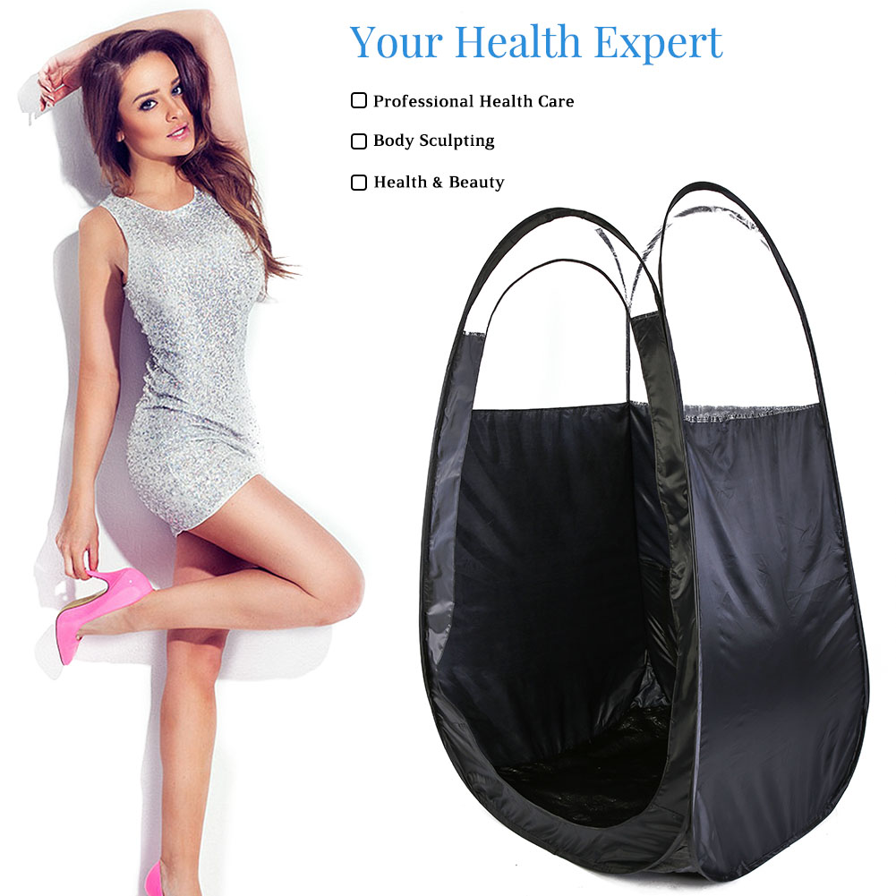Spray-Tan-Tanning-Pop-Up-Portable-Tent-With-Carry-Bag-Clear-Top-High-Quality thumbnail 15