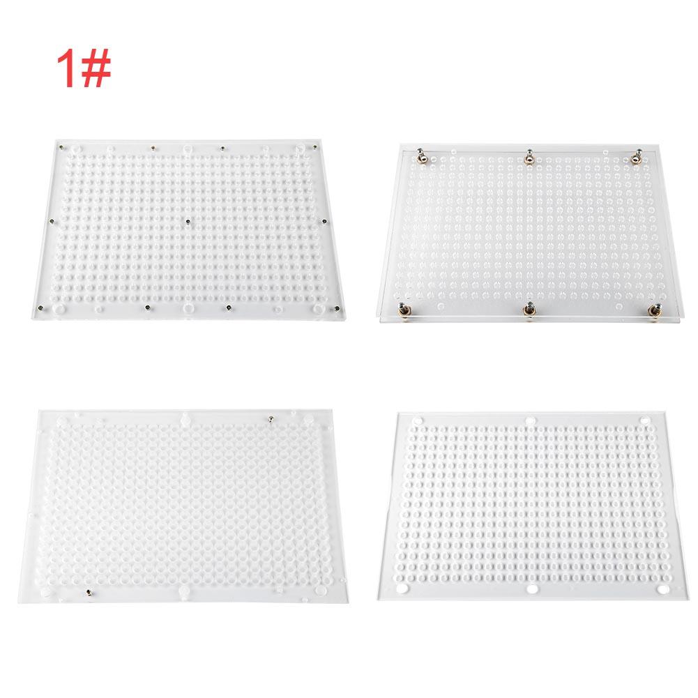 7PCS-400-Holes-Capsule-Filling-Machine-Filler-Board-100-187-Holes-000-00-0-1
