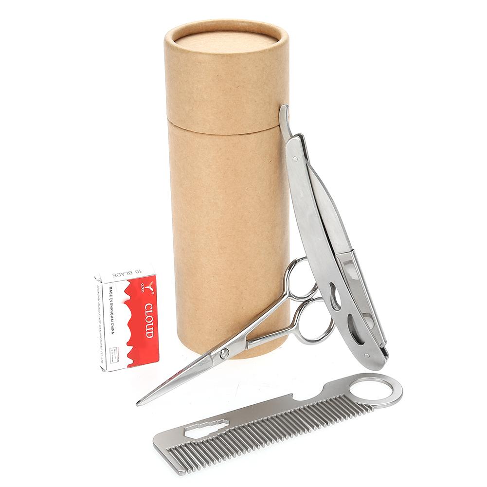 Beard-Grooming-Trimming-Kit-for-Men-Beard-Oil-Beard-Care-Styling-Shaping-Gift thumbnail 32