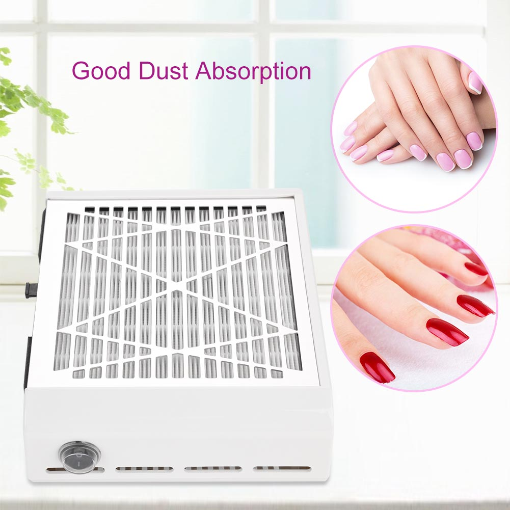 110v240v Nail Art Dust Suction Collector Nail Dust Collector