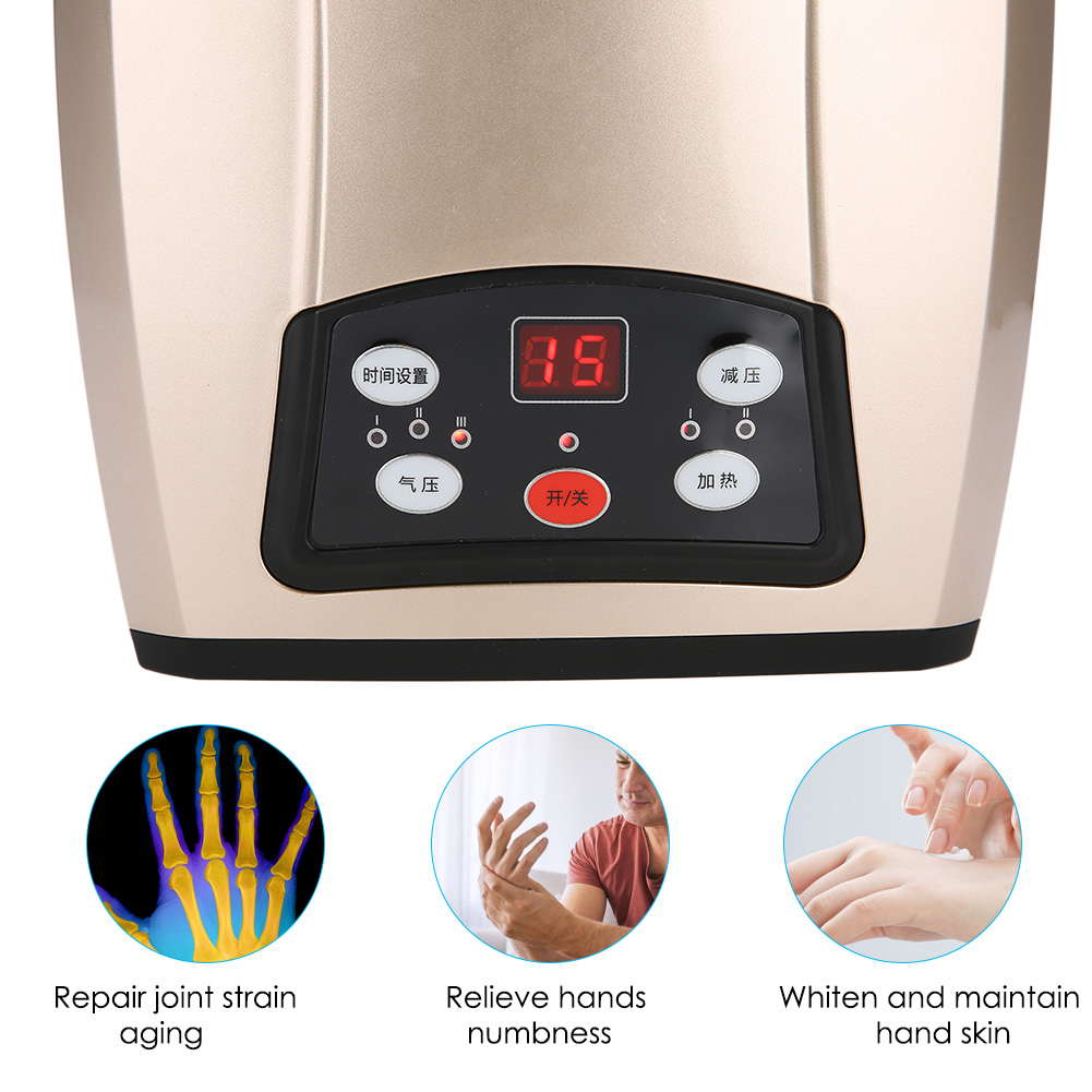 Electric Hand Massager | Acupressure Palm Finger Relief ...