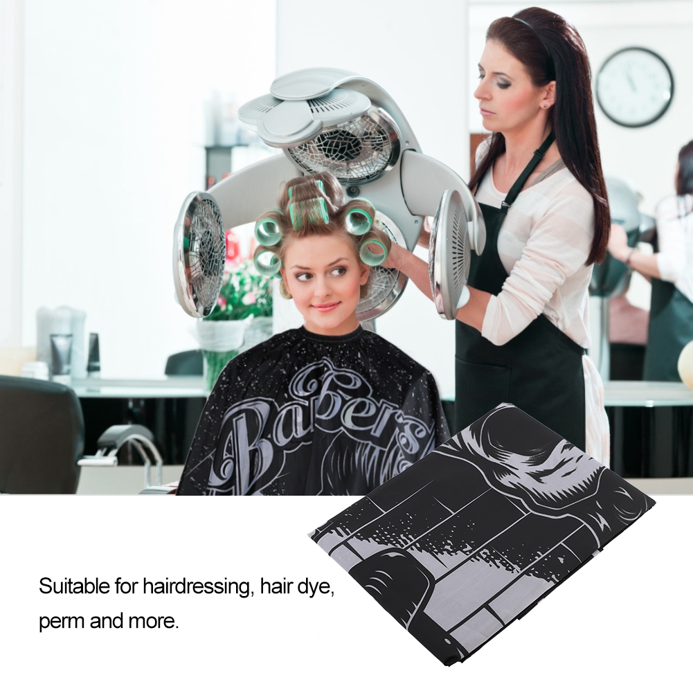 Indexbild 20 - Large Hair Cutting Cape Salon Hairdressing / Hairdresser Gown Barber Cloth Apron